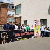 La Diputación de Palencia conmemora en Guardo el Día Mundial sin Tabaco
