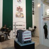 La exposición en el Centro Cultural del muelle