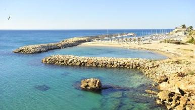 Playa de Calafat (L'Ametlla de Mar, Tarragona)