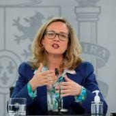 La ministra de Asuntos Económicos, Nadia Calviño
