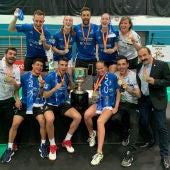 El Bádminton Oviedo se proclamó campeón de la Liga TOP 8