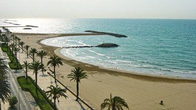 Playa de Cunit (Cunit, Tarragona)