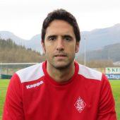 Iñigo Vélez de Mendizabal, entrenador del SD Amorebieta.