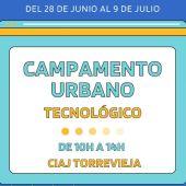 Se desarrollará del 28 de junio al 8 de julio en el CIAJ y va dirigido a adolescentes de 12 a 17 años de Torrevieja