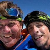 Los alpinistas checos Holecek y Groh en el Karakórum