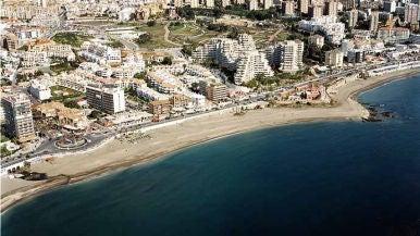 Playa Bil Bil, Benalmádena (Málaga)