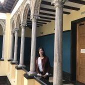 La directora, Elena Rivas, anima a visitar la exposición del Palacio de Montemuzo que muestra algunas 'joyas' conservadas en el Archivo