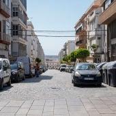 La calle Héroes del Baleares, en San Fernando