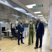 La Delegada del Gobierno ha visitado las instalaciones del SEPE en Zaragoza con el director del servicio
