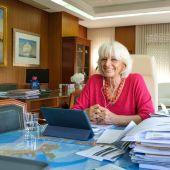 Teófila Martínez, presidenta de la Autoridad Portuaria de la Bahía de Cádiz