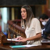 Miriam Nogueras, portavoz de Junts per Cataluña en el Congreso