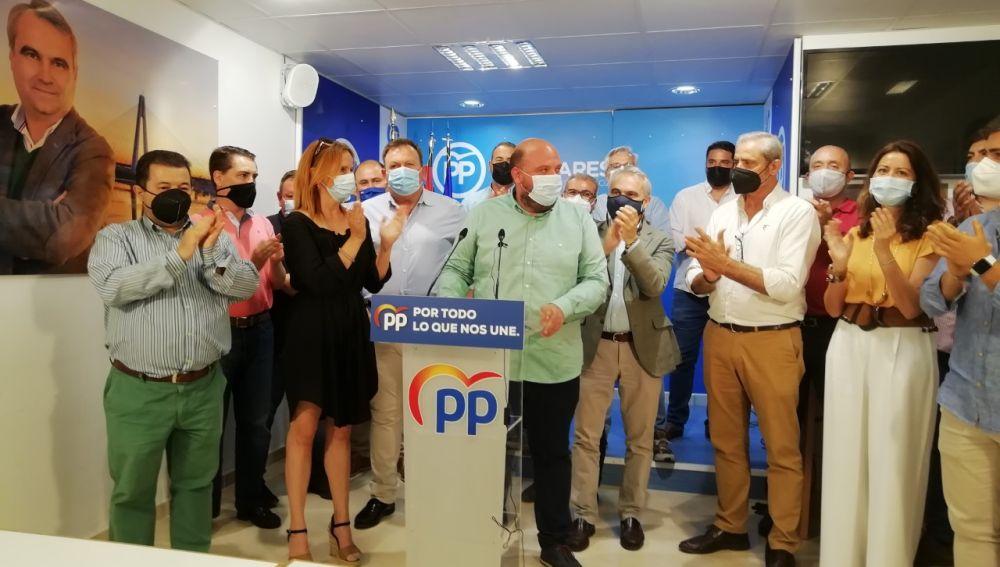 Manuel Naharro Gata, proclamado candidato único a la presidencia provincial del PP de Badajoz