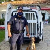 Unidad Canina Policía Local Marbella