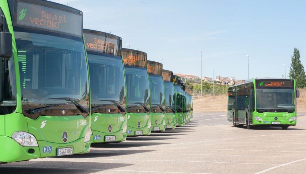 Cáceres recibirá más de 1,3 millones de euros de subvención al servicio de autobús urbano