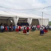 Fiesta de prao en Asturias.