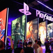 Imagen de archivo de un stand en un E3 de Sony.