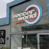 Instalaciones abandonas del Soccer World