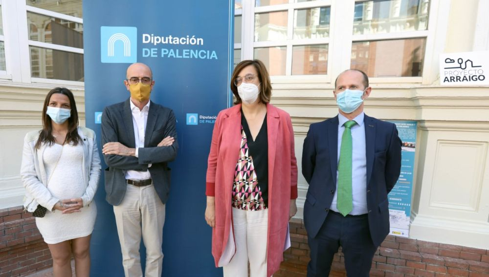 La Diputación se suma al Proyecto Arraigo con el objetivo de combatir el reto demográfico