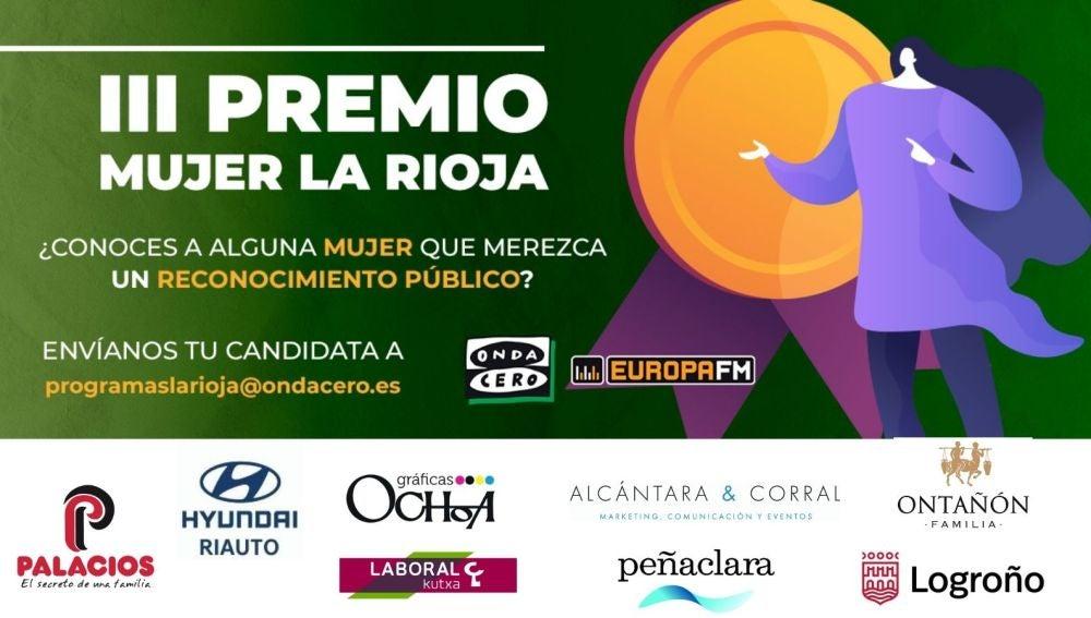 Conoce a las candidatas del III Premio Mujer La Rioja