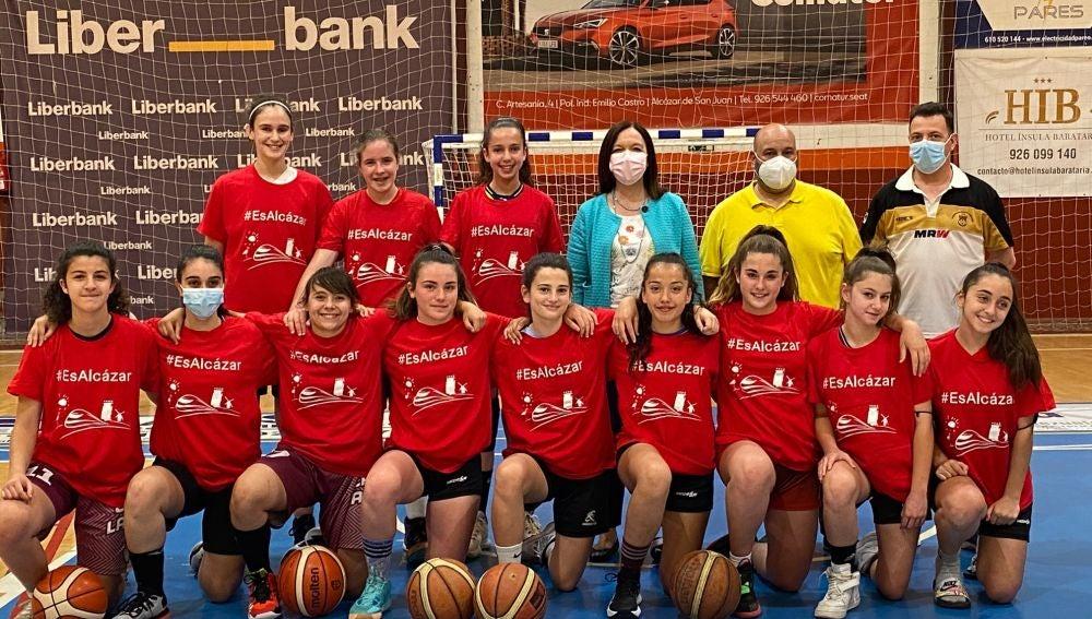 El equipo infantil femenino de baloncesto Grupo 76- Alkasar jugará el Campeonato de España