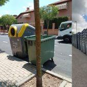 Contenedores de residuos en Villalbilla