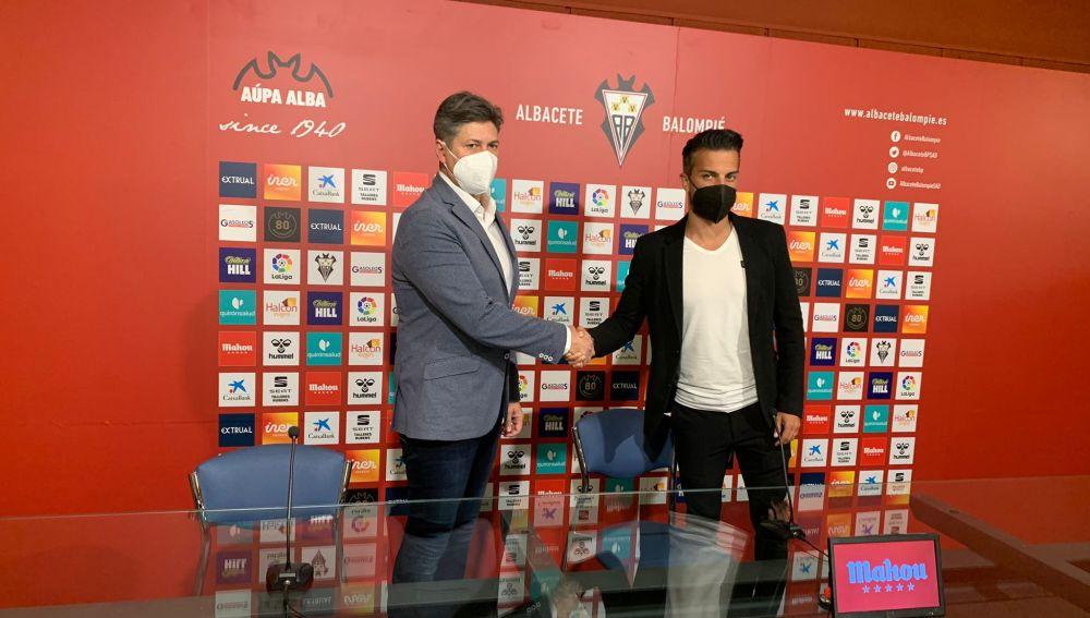 Rubén de la Barrera afronta con ilusión el nuevo proyecto del Alba