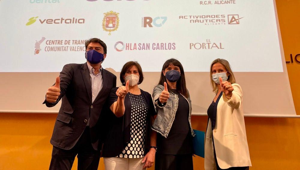 Presentación de la maratón de ASISA en el MARQ de Alicante
