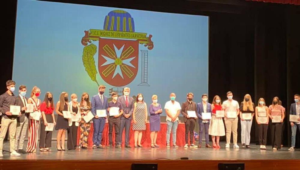 El IES Miguel de Cervantes clausura el curso académico 2020-21