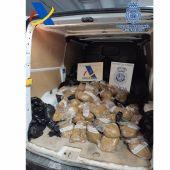 Intervenidos 500 kilos de picadura de tabaco en Badajoz que se pretendía introducir en el mercado ilegal