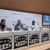 La España que madruga en Valencia, con Rubén Amón, Carlos Alsina, Rafa Latorre y Marta García Aller.