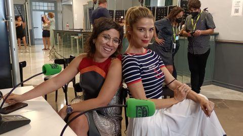 La directora Claudia Pinto y la actriz Juana Acosta presentan 'Las consecuencias' en el Festival de Málaga