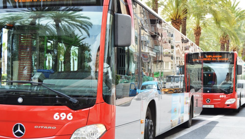 Autobuses urbanos de Alicante