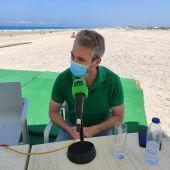 Felipe Oliveros, director de los parques naturales de la Bahía de Cádiz