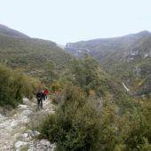 Tramo del Camino de Santiago Arán-Pirineos