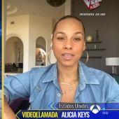 Alicia Keys en 'El Hormiguero 3.0' con Pablo Motos