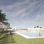 El proyecto de la piscina de verano de San Fernando
