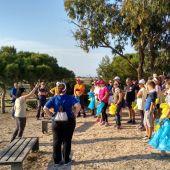 Más de 60 kilos de basuraleza recogidas en el Parque Natural de La Mata -Torrevieja