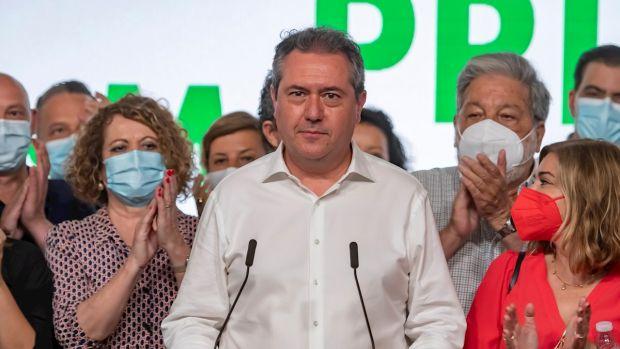 Juan Espadas, candidato socialista a la Junta de Andalucía