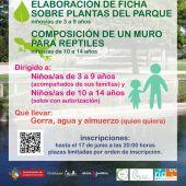 Cartel Actividad Familiar Sobre Medio Ambiente