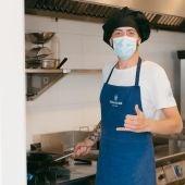 Antonio Rubio, cocinero