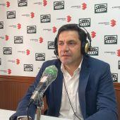 Miguel Ángel Valverde, en los estudios de Onda Cero