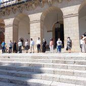 Cáceres guarda un minuto de silencio por los últimos asesinatos machistas
