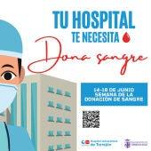 "Campaña ""Tu hospital te necesita. Dona sangre"""