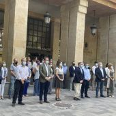 Minuto de silencio en Albacete en repulsa de los últimos asesinatos machistas