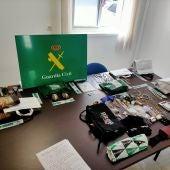 La Guardia Civil desarticula un grupo criminal dedicado al tráfico de drogas