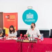 Instantes de la rueda de prensa en la Casa de Iberoamérica