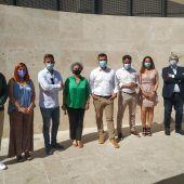 Luis Salaya se plantea como reto recuperar la Ribera del Marco, impulsar la industria verde y fomentar el empleo estable