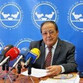 Segundo Alcázar, presidente del Banco de Alimentos de Ciudad Real