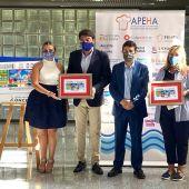 Presentación en Alicante del Cupón de la ONCE dedicado a la Hostelería