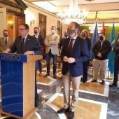 El alcalde Canteli confía en la palabra de Barbón sobre La Vega
